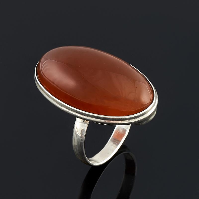 Кольцо сердолик (серебро 925 пр.) размер 17,5 кольцо oem 925 925 smtr133 ring