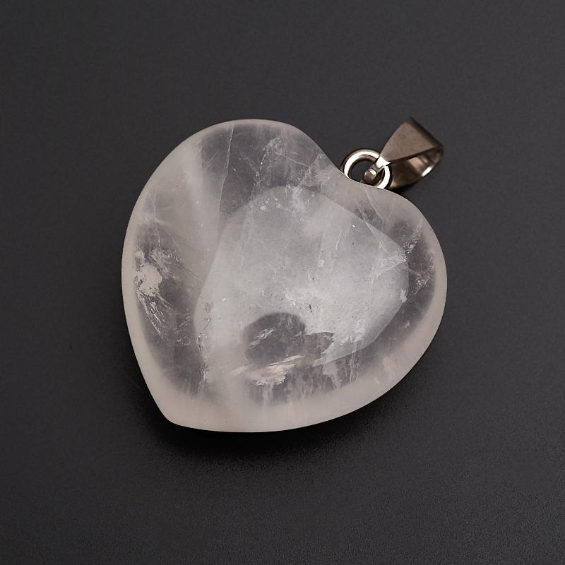 Кулон розовый кварц (биж. сплав) 4 см кулон кристалл розовый кварц 4 см