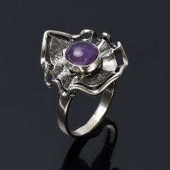 Кольцо аметист Бразилия (серебро 925 пр.) размер 18,5