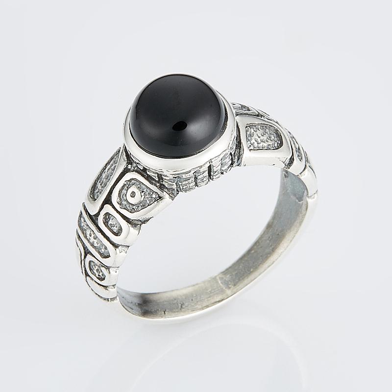 Кольцо агат черный (серебро 925 пр.) размер 18 кольцо агат черный серебро 925 пр размер 22
