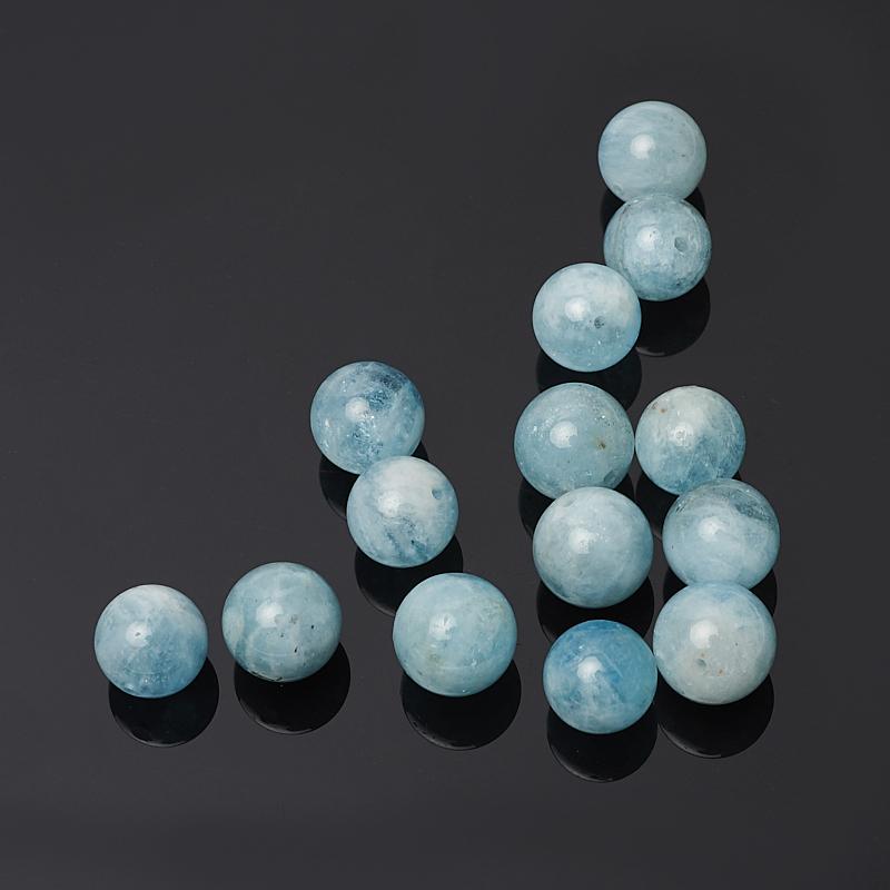 Бусина аквамарин шарик 10,5 мм (1 шт) естественно хризантемы камень призмы шарик нити 13x10x10 мм отверстие 1 мм около 31 шт нитка 16