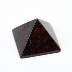Пирамида яшма джеспилит ЮАР 5 см