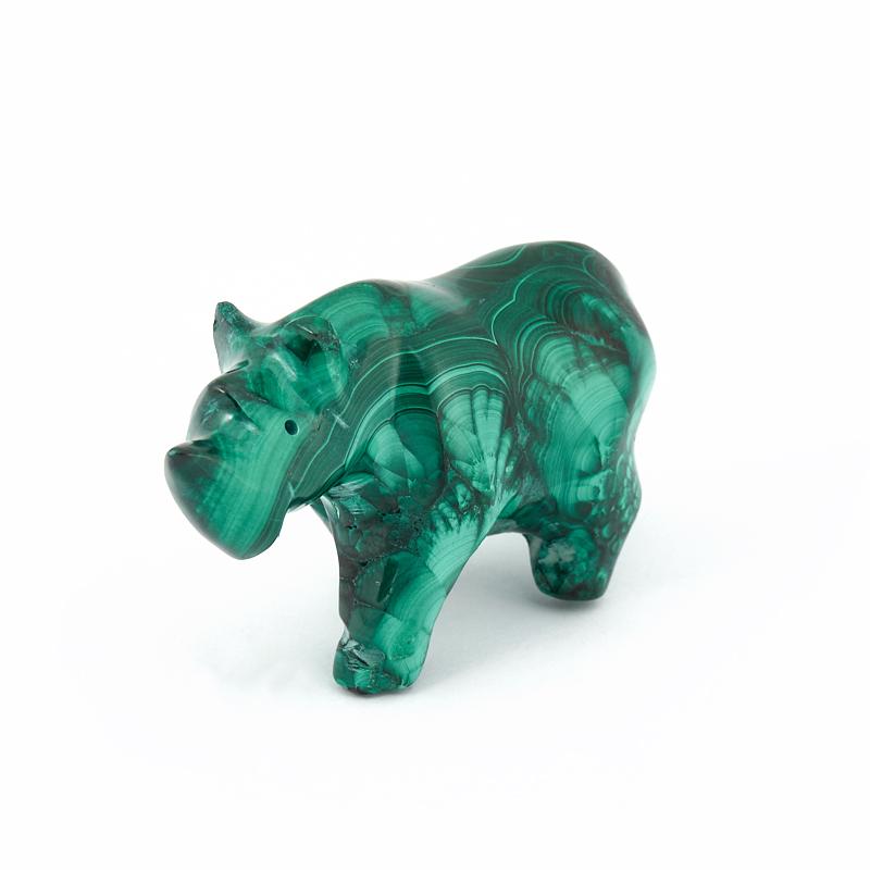 Носорог малахит 6 см