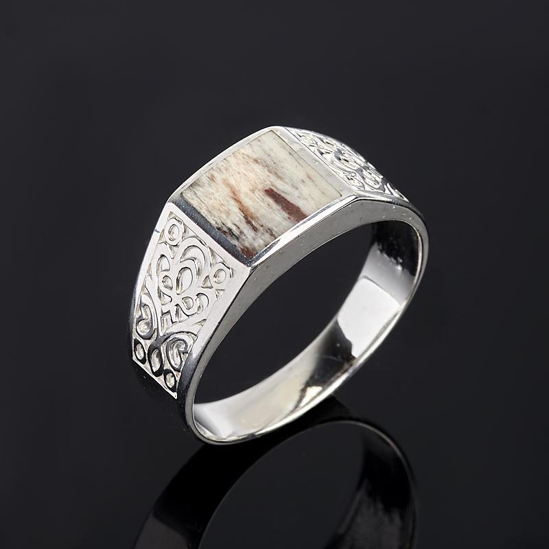 Кольцо яшма (серебро 925 пр.) размер 20,5