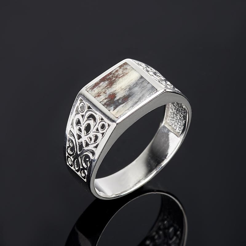 Кольцо яшма (серебро 925 пр.) размер 19