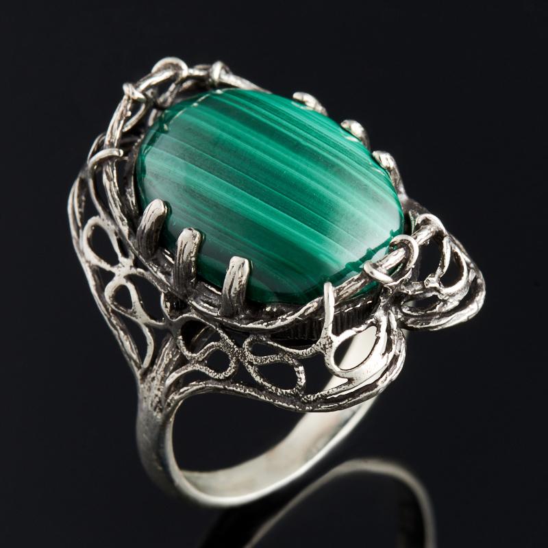 Кольцо малахит (серебро 925 пр.) размер 18,5 кольцо oem 925 925 lknspcr179