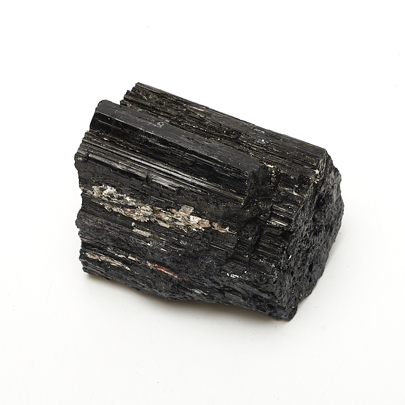 Кристалл турмалин черный (шерл) (3-4 см) 1 шт