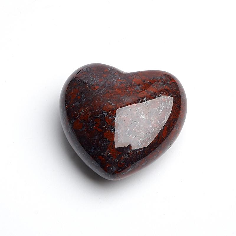 Сердечко яшма джеспилит 2,5 см