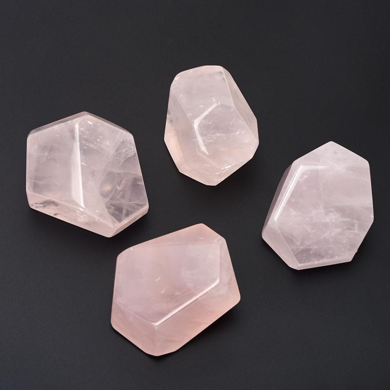 Образец розовый кварц (4-5 см) 1 шт образец опал xxs 1 5 2 см 1 шт