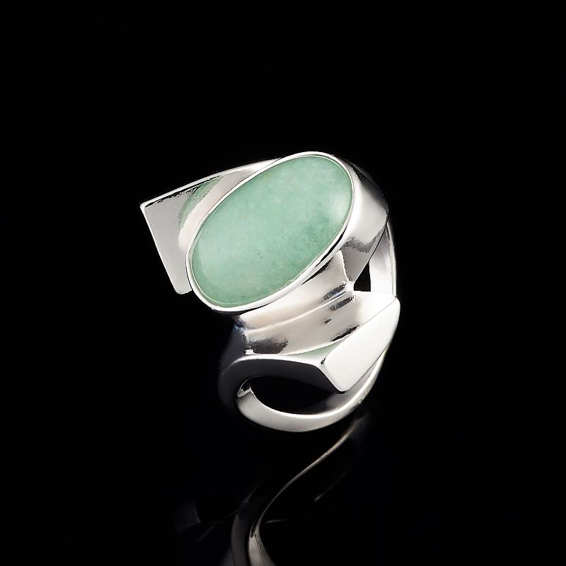 Кольцо авантюрин (серебро 925 пр.) размер 16,5 кольцо мираж авантюрин