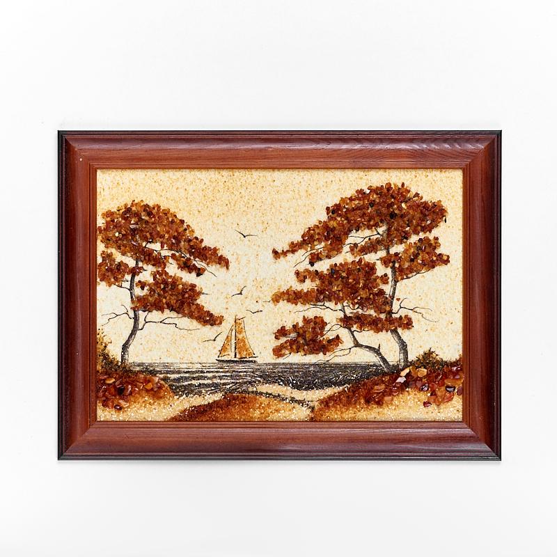 Картина Море янтарь 21х30 см картина море янтарь 15 21 см
