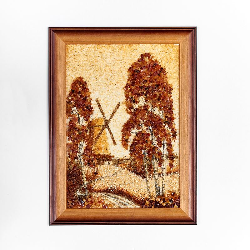 Картина Природа янтарь  21х30 см