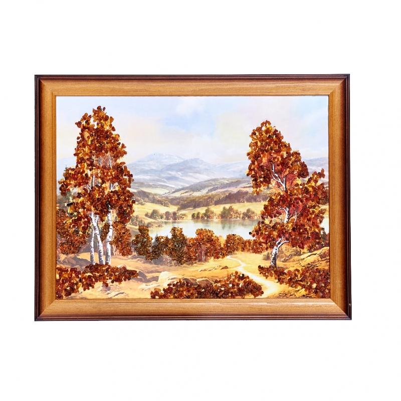 Картина Природа янтарь 30х40 см стоимость