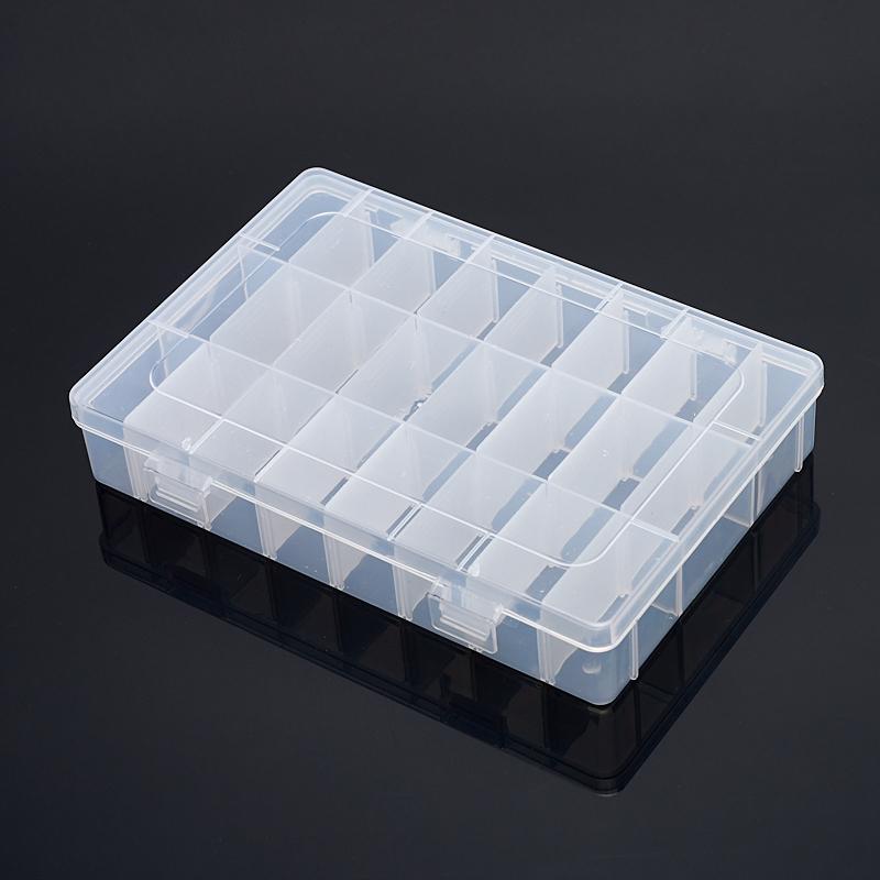 Коробка для коллекции камней (24 ячейки) пластик
