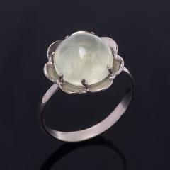 Кольцо пренит ЮАР (серебро 925 пр.) размер 17