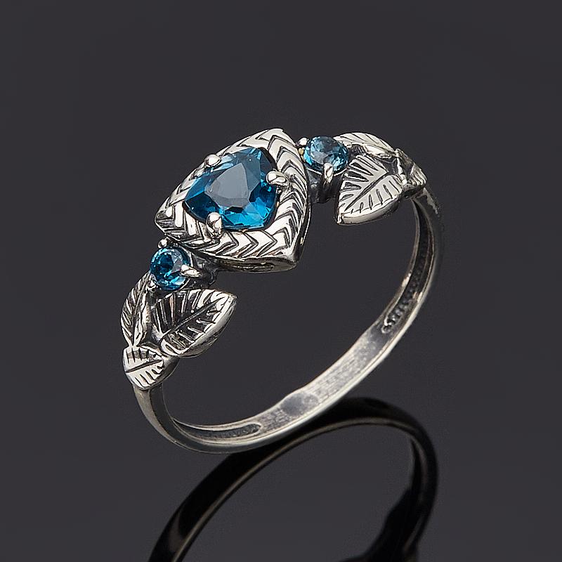 Кольцо топаз лондон огранка (серебро 925 пр.) размер 17 кольцо коюз топаз кольцо т141018126 лл