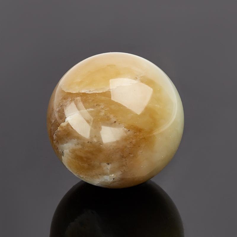 Шар нефрит белый 4,5 см
