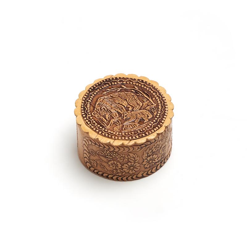 Шкатулка для хранения украшений 5,5х3,5 см шкатулка для украшений moretto 18 13 5 см коричневый