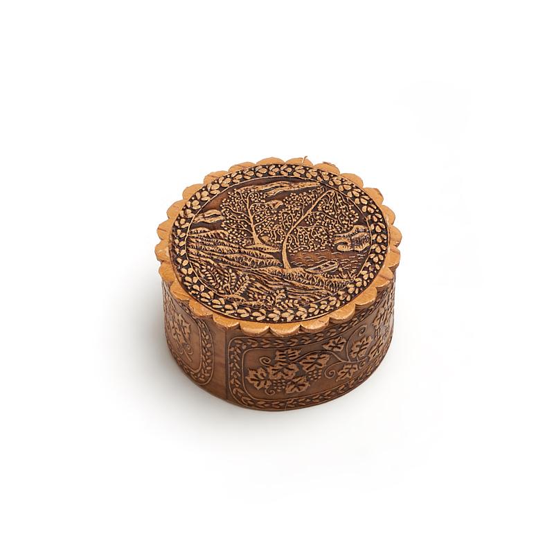 Шкатулка для хранения украшений 7,5х3,5 см