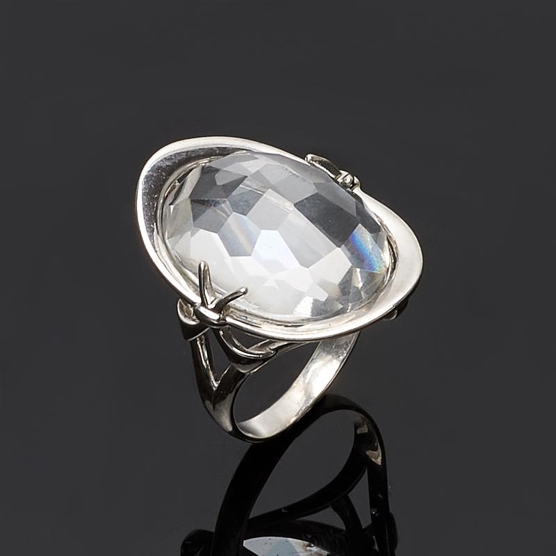 Кольцо горный хрусталь огранка (серебро 925 пр.) размер 18 жен стерлинговое серебро хрусталь стразы кольца для пар кольцо круглый бижутерия любовь свадьба серебряный кольцо назначение