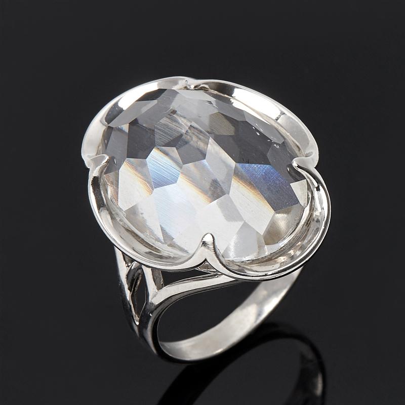 Кольцо горный хрусталь огранка (серебро 925 пр.) размер 18,5 жен стерлинговое серебро хрусталь стразы кольца для пар кольцо круглый бижутерия любовь свадьба серебряный кольцо назначение