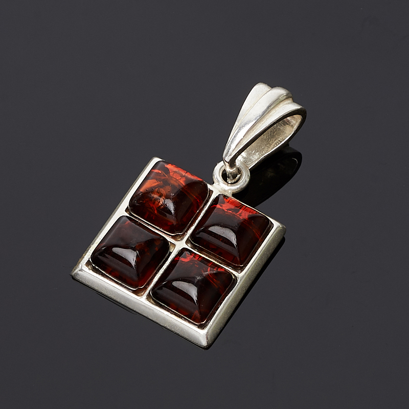 Кулон янтарь (латунь посеребр.) квадрат 3 см am 1734подвеска золотой ключик латунь янтарь