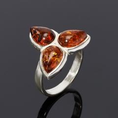 Кольцо янтарь Россия  размер 17,5