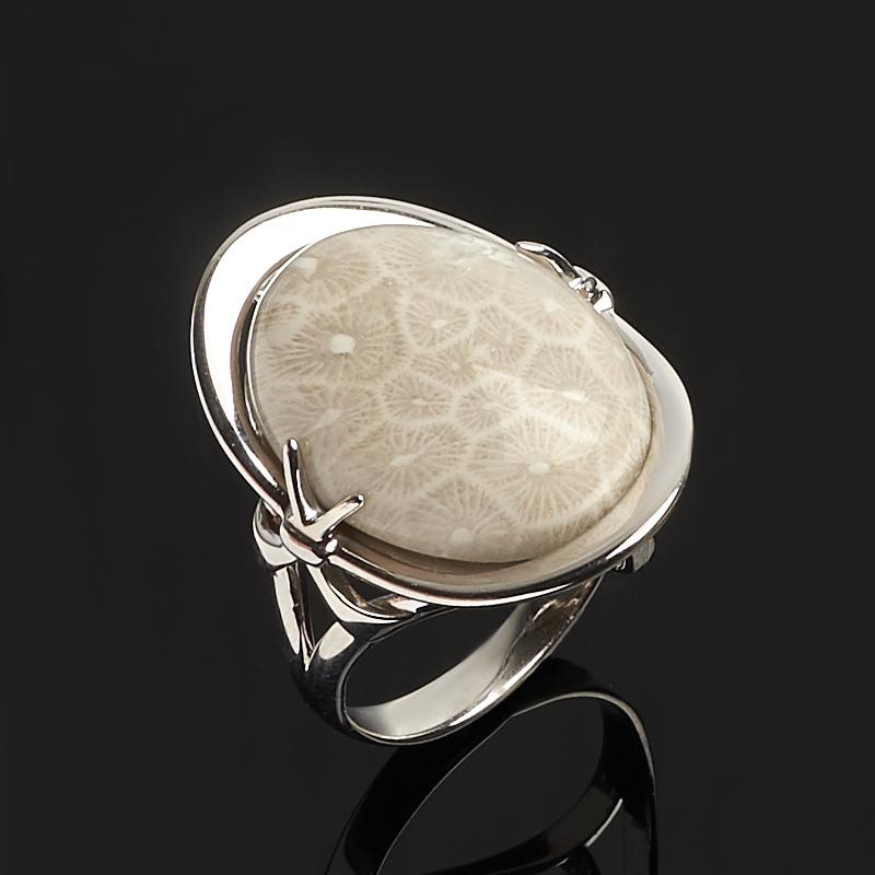 Кольцо коралл (серебро 925 пр.) размер 18 кольца колечки кольцо аскон им коралл
