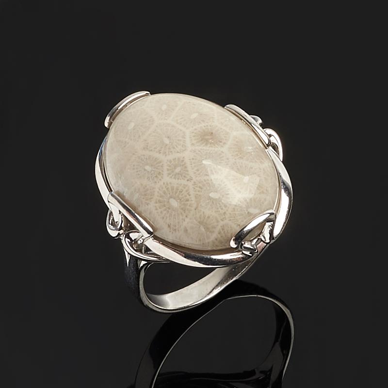 Кольцо коралл (серебро 925 пр.) размер 17,5 кольца колечки кольцо аскон им коралл