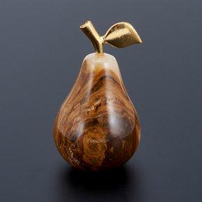 Груша оникс мраморный Пакистан 4х6 см