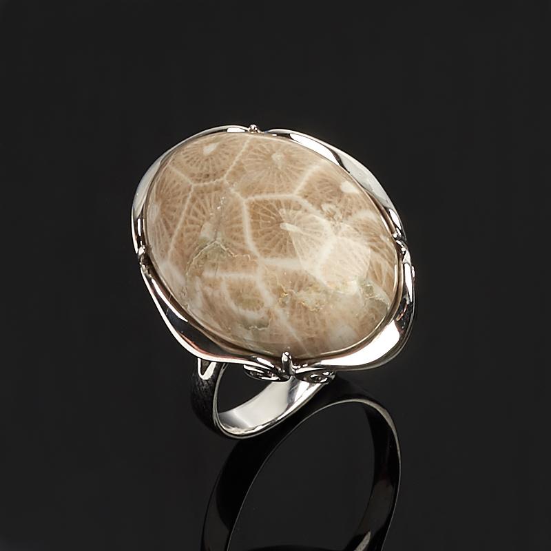 Кольцо коралл (серебро 925 пр.) размер 18,5 кольца колечки кольцо аскон им коралл