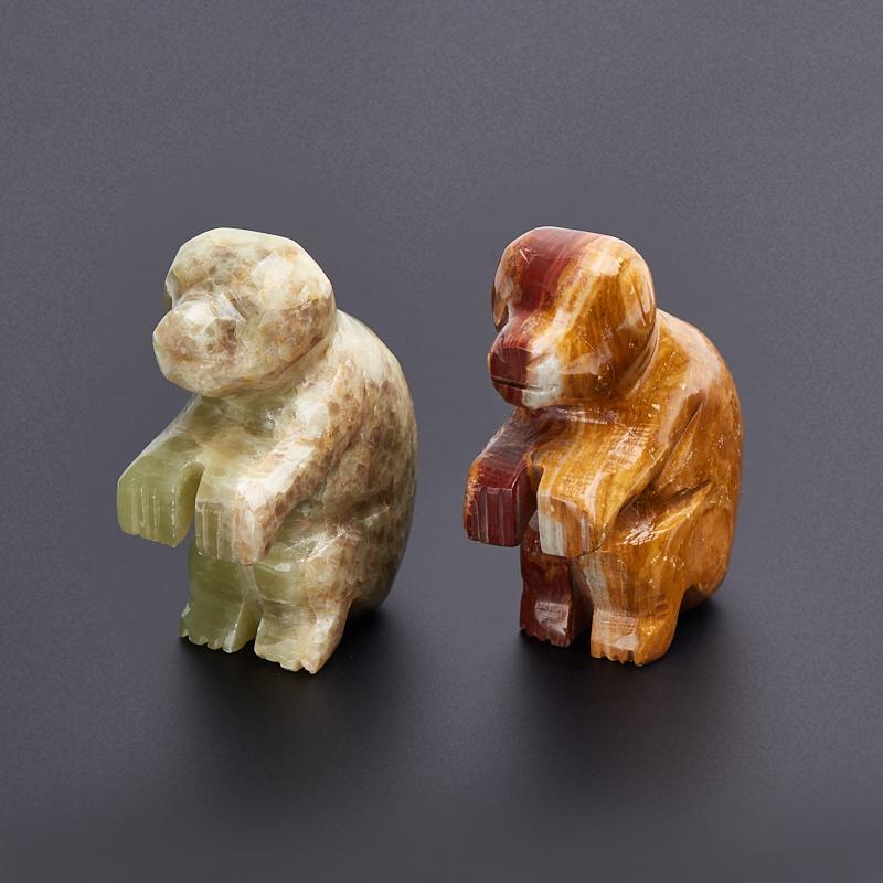 Обезьянка оникс мраморный 7,5 см мягкие игрушки hansa обезьянка сидящая палевая 20 см
