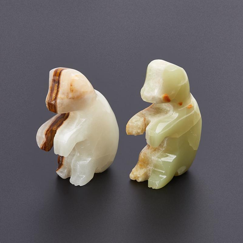 Обезьянка оникс мраморный 5 см мягкие игрушки hansa обезьянка сидящая палевая 20 см