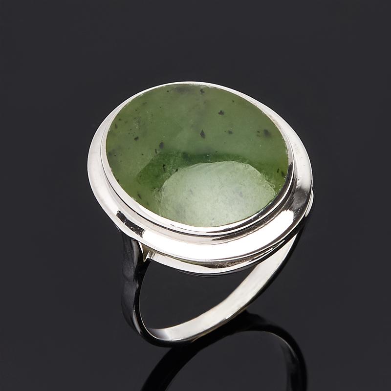 Кольцо нефрит зеленый (серебро 925 пр.) размер 18 united comix kf40ak антибактериальная серия 40 копий a4 брошюра документ серебро зеленый