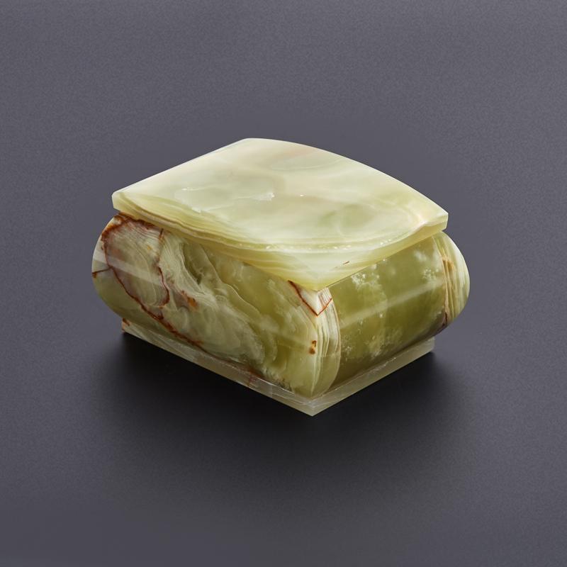 Шкатулка оникс мраморный 9х7х5,5 см