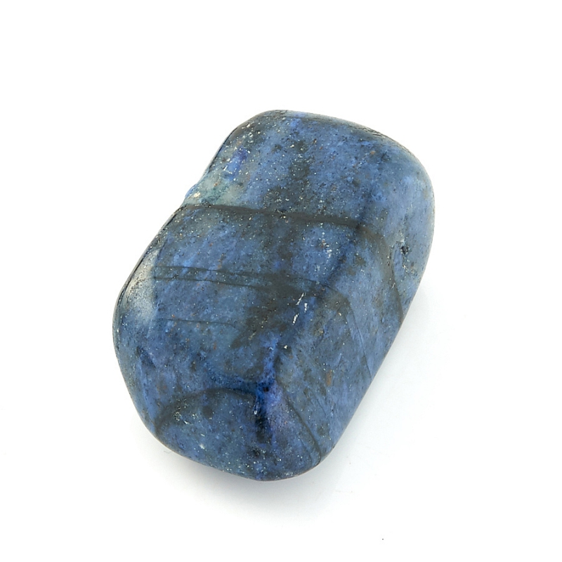 Галтовка дюмортьерит Мозамбик (2,5-3 см) (1 шт)