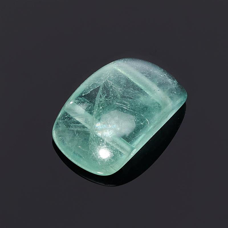 Бусина флюорит зеленый прямоугольник 11*19 мм (1 шт)
