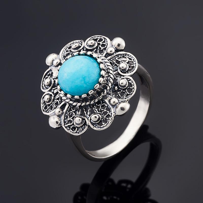 Кольцо амазонит (серебро 925 пр.) размер 17,5 кольцо амазонит серебро 925 пр размер 19