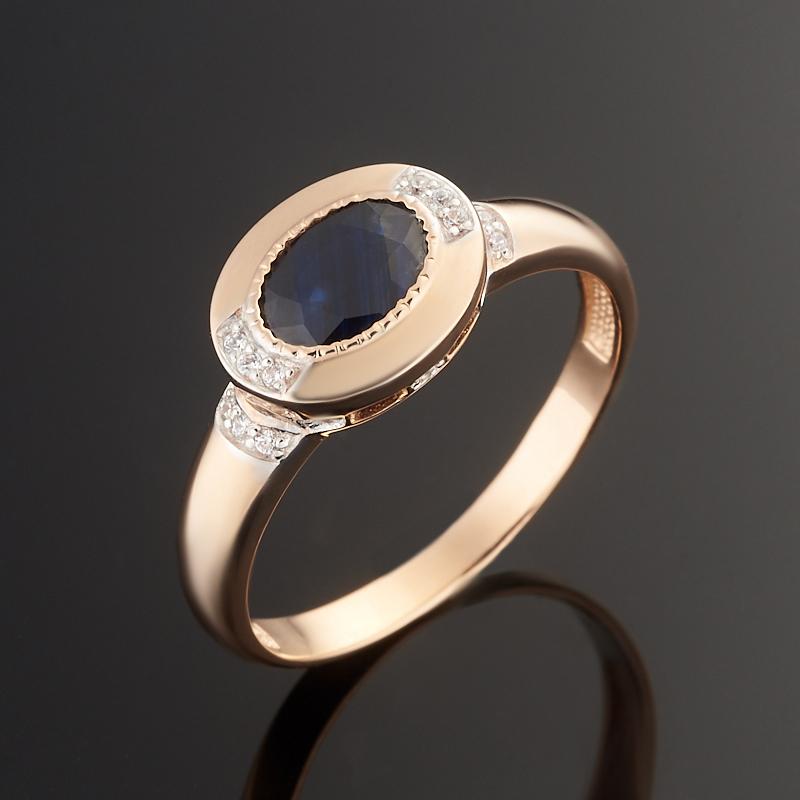 Кольцо сапфир огранка (золото 585 пр.) размер 19 кольцо сапфир огранка золото 585 пр размер 19