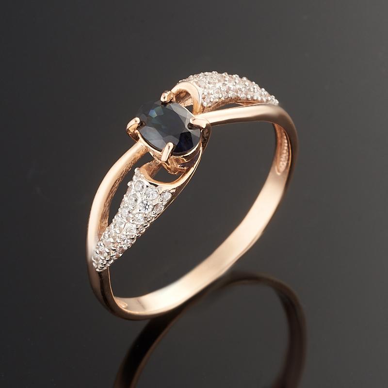 Кольцо сапфир огранка (золото 585 пр.) размер 18 кольцо сапфир огранка золото 585 пр размер 19