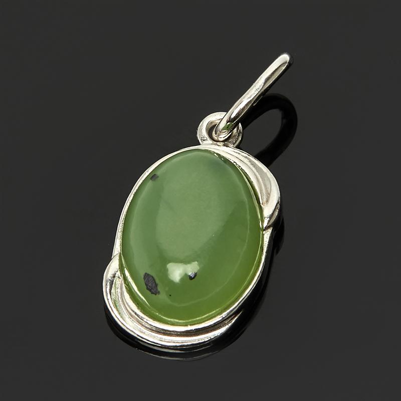 Кулон нефрит зеленый (серебро 925 пр.) термоконтейнер арктика 2000 30 л зеленый