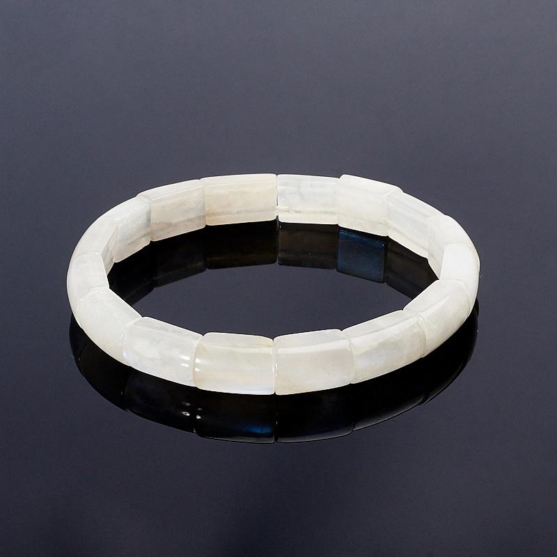 Браслет лунный камень 17 см