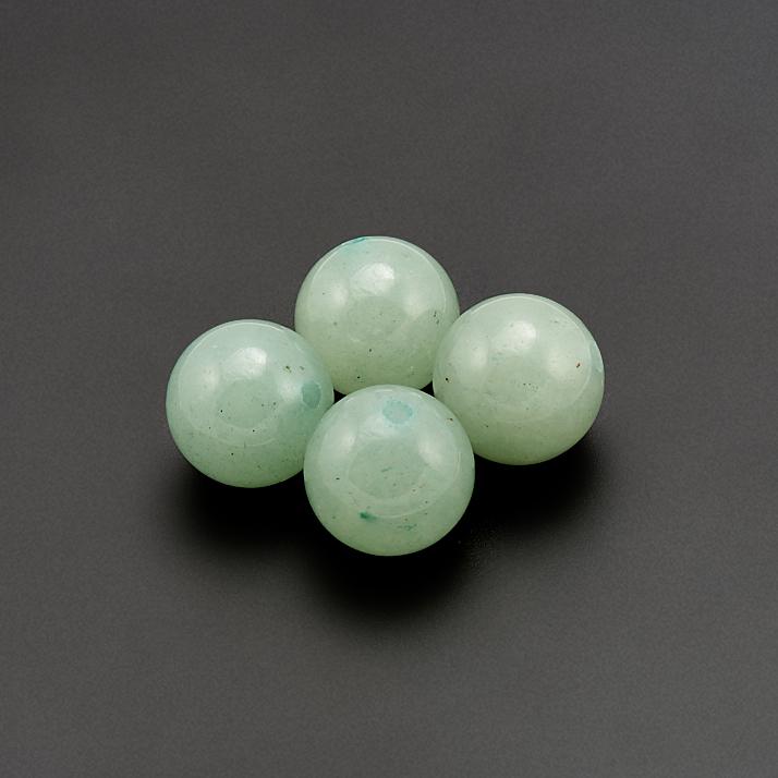 Бусина авантюрин зеленый шарик 8-8,5 мм (1 шт) цены онлайн