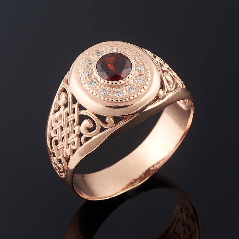 Кольцо гранат альмандин (серебро 925 пр. позолота) огранка размер 19,5 кольцо гранат альмандин огранка серебро 925 пр позолота размер 17