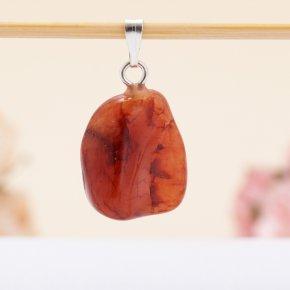 Кулон сердолик Ботсвана 1,5 см