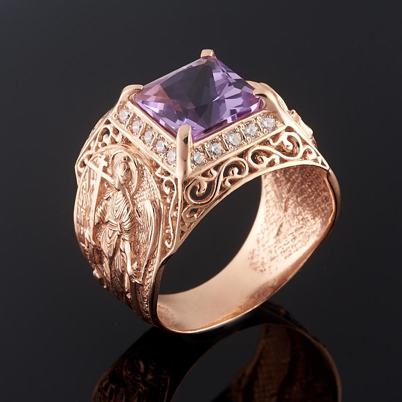 Кольцо аметист огранка (серебро 925 пр., позолота) размер 21 кольцо аметист огранка серебро 925 пр позолота размер 16 5