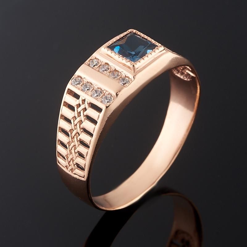 Кольцо топаз лондон огранка (серебро 925 пр. позолота) размер 20 кольцо топаз лондон огранка серебро 925 пр позолота размер 19