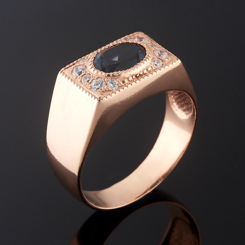 Кольцо топаз лондон огранка (серебро 925 пр., позолота) размер 18,5 кольцо коюз топаз кольцо т102017974 лл