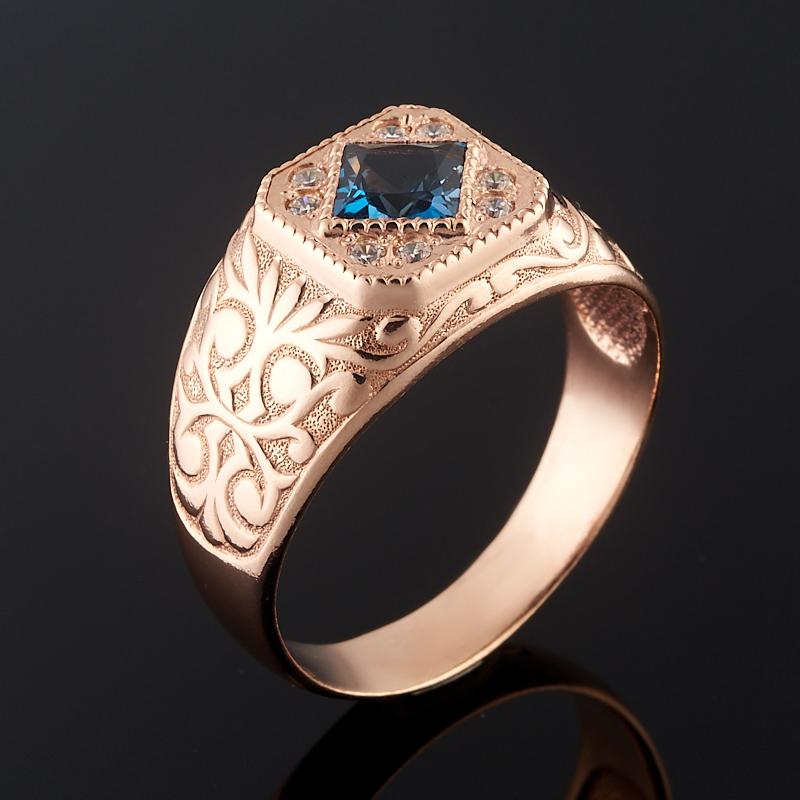 Кольцо топаз лондон огранка (серебро 925 пр. позолота) размер 22 кольцо топаз лондон огранка серебро 925 пр позолота размер 19