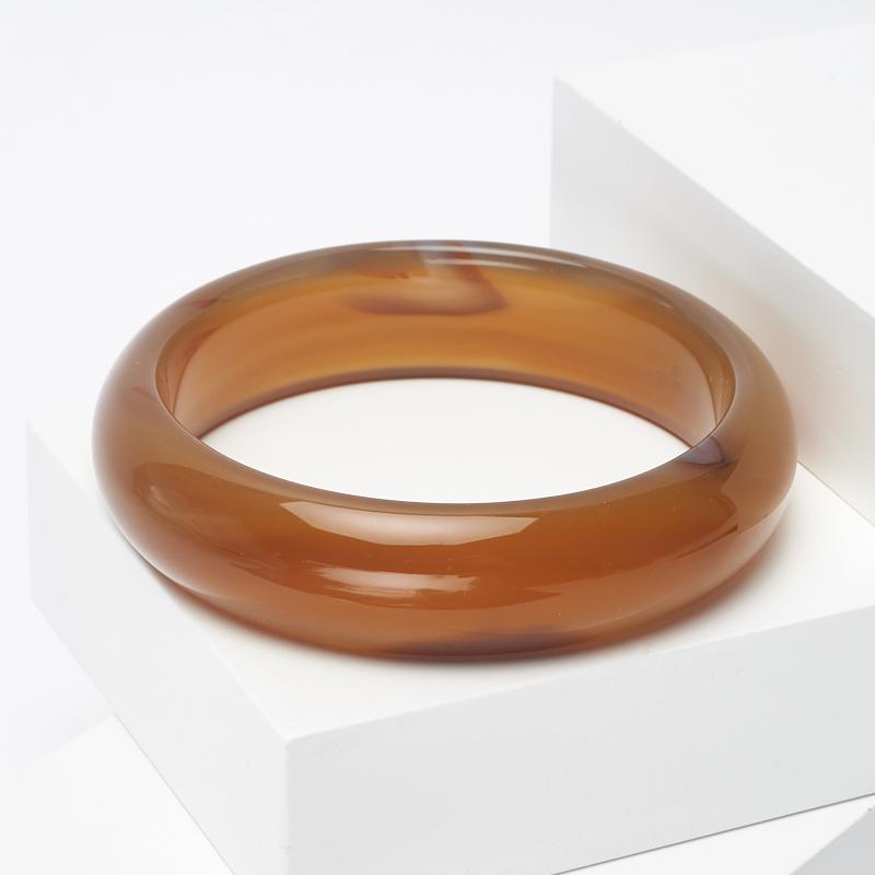 Браслет агат коричневый 20 см
